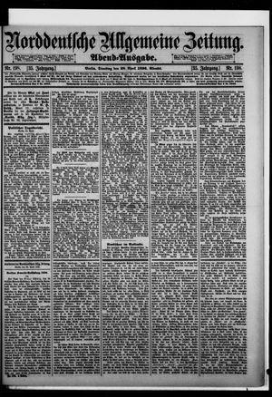 Norddeutsche allgemeine Zeitung vom 28.04.1896