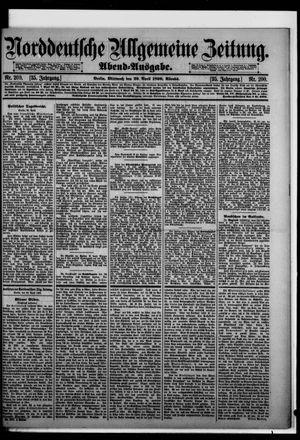 Norddeutsche allgemeine Zeitung vom 29.04.1896