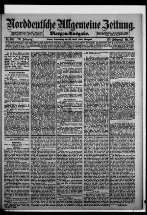 Norddeutsche allgemeine Zeitung vom 30.04.1896