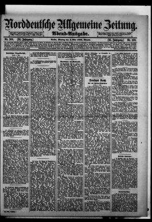 Norddeutsche allgemeine Zeitung vom 04.05.1896