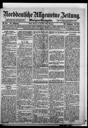 Norddeutsche allgemeine Zeitung vom 10.05.1896