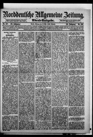 Norddeutsche allgemeine Zeitung vom 11.05.1896