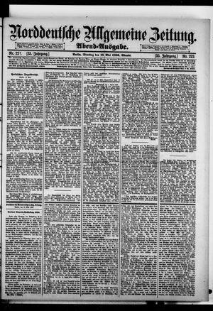Norddeutsche allgemeine Zeitung vom 12.05.1896