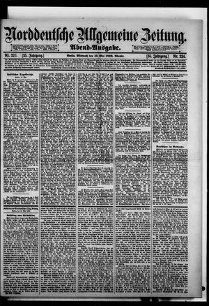 Norddeutsche allgemeine Zeitung on May 13, 1896