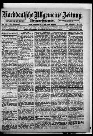 Norddeutsche allgemeine Zeitung vom 14.05.1896