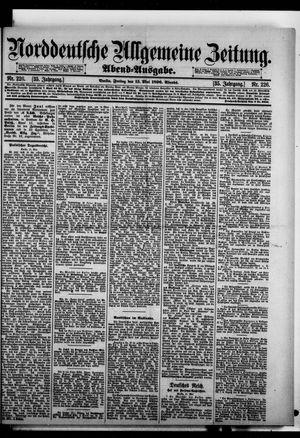 Norddeutsche allgemeine Zeitung vom 15.05.1896