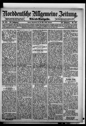 Norddeutsche allgemeine Zeitung on May 16, 1896