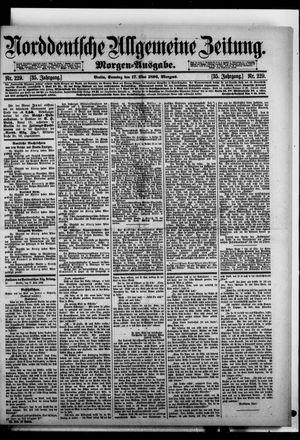 Norddeutsche allgemeine Zeitung vom 17.05.1896