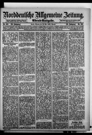 Norddeutsche allgemeine Zeitung on May 18, 1896