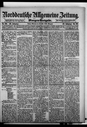 Norddeutsche allgemeine Zeitung vom 20.05.1896