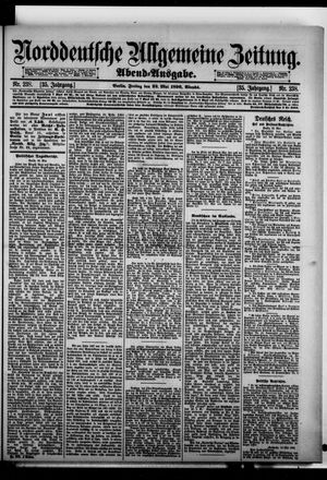 Norddeutsche allgemeine Zeitung vom 22.05.1896