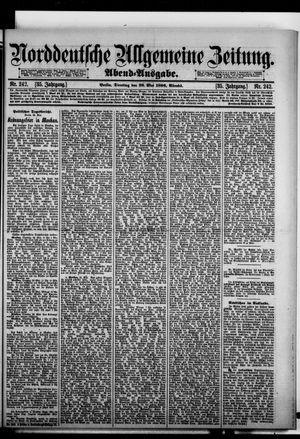 Norddeutsche allgemeine Zeitung vom 26.05.1896
