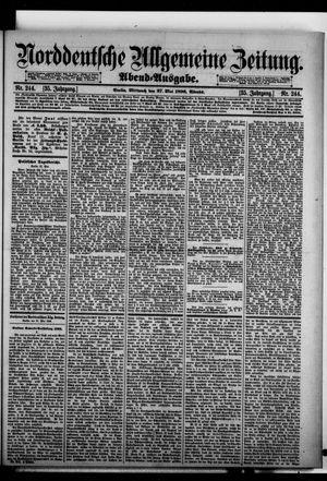 Norddeutsche allgemeine Zeitung vom 27.05.1896