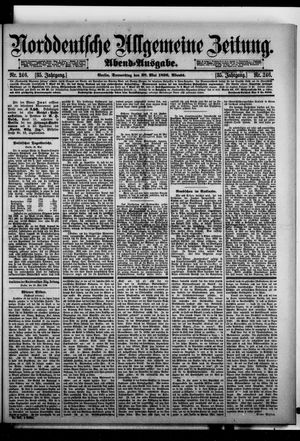 Norddeutsche allgemeine Zeitung vom 28.05.1896