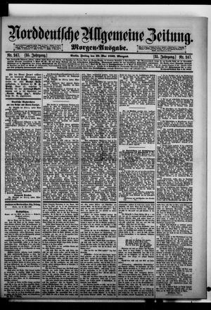 Norddeutsche allgemeine Zeitung vom 29.05.1896