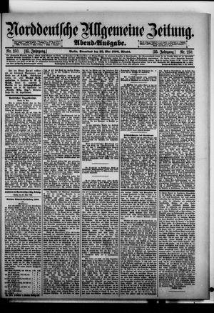 Norddeutsche allgemeine Zeitung on May 30, 1896