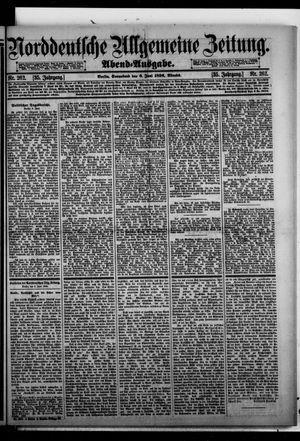 Norddeutsche allgemeine Zeitung on Jun 6, 1896