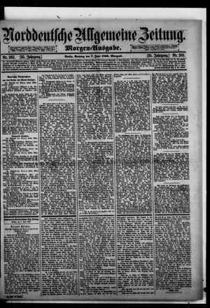 Norddeutsche allgemeine Zeitung vom 07.06.1896