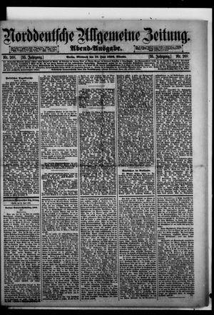 Norddeutsche allgemeine Zeitung vom 10.06.1896