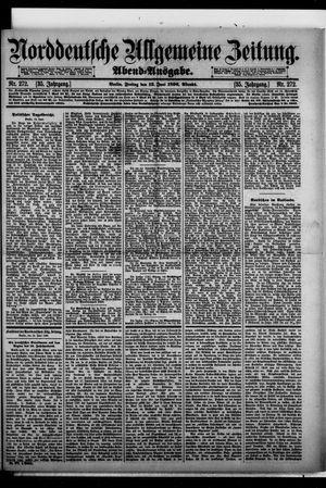Norddeutsche allgemeine Zeitung on Jun 12, 1896