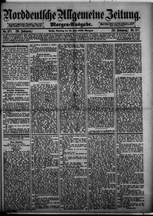 Norddeutsche allgemeine Zeitung vom 16.06.1896