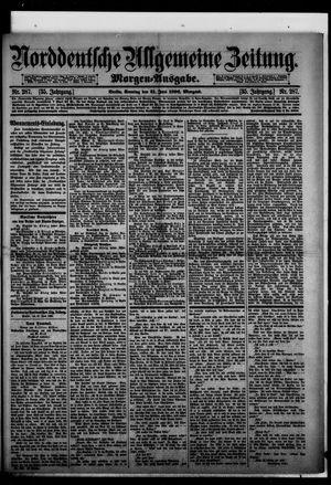 Norddeutsche allgemeine Zeitung vom 21.06.1896