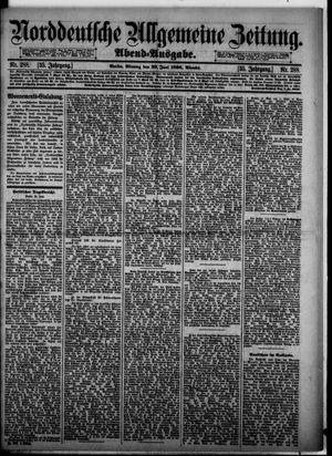 Norddeutsche allgemeine Zeitung vom 22.06.1896