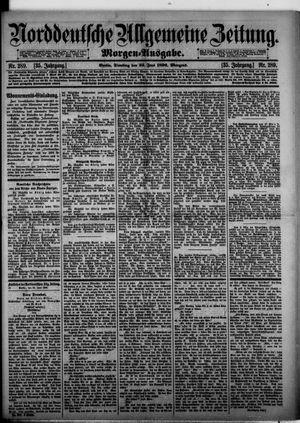 Norddeutsche allgemeine Zeitung vom 23.06.1896