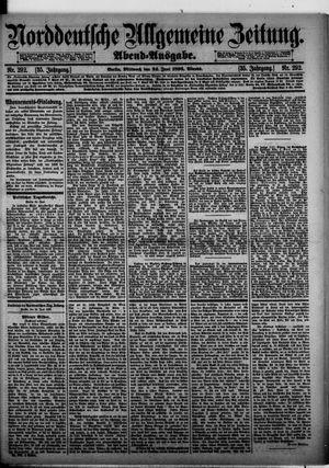 Norddeutsche allgemeine Zeitung vom 24.06.1896