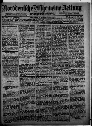 Norddeutsche allgemeine Zeitung vom 26.06.1896