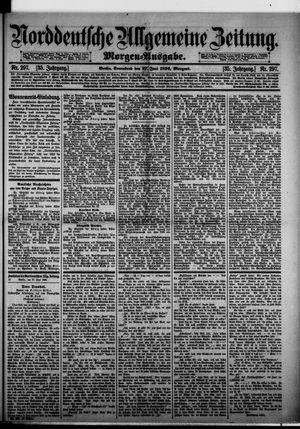 Norddeutsche allgemeine Zeitung vom 27.06.1896