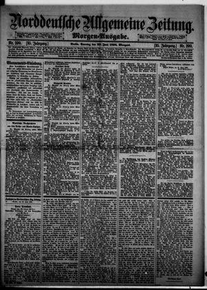 Norddeutsche allgemeine Zeitung vom 28.06.1896