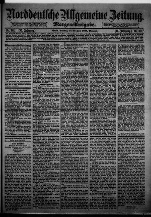 Norddeutsche allgemeine Zeitung vom 30.06.1896