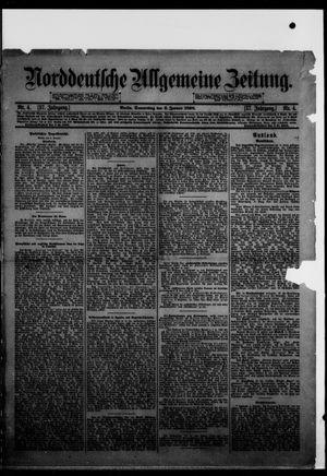 Norddeutsche allgemeine Zeitung vom 06.01.1898