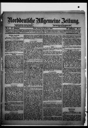 Norddeutsche allgemeine Zeitung vom 11.01.1898