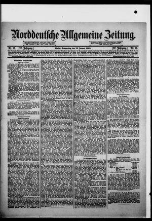 Norddeutsche allgemeine Zeitung vom 13.01.1898