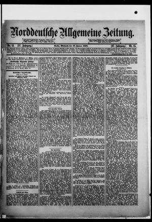 Norddeutsche allgemeine Zeitung vom 19.01.1898