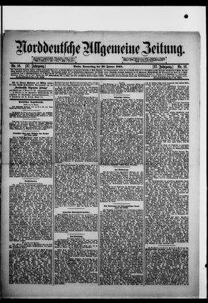 Norddeutsche allgemeine Zeitung vom 20.01.1898