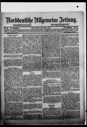 Norddeutsche allgemeine Zeitung vom 31.01.1898