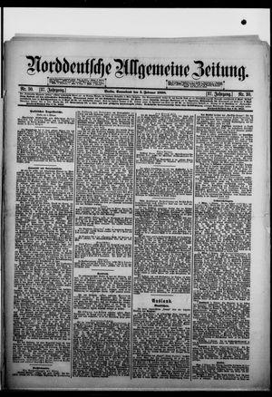 Norddeutsche allgemeine Zeitung vom 05.02.1898