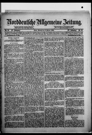 Norddeutsche allgemeine Zeitung vom 09.02.1898
