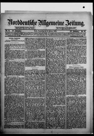 Norddeutsche allgemeine Zeitung vom 10.02.1898
