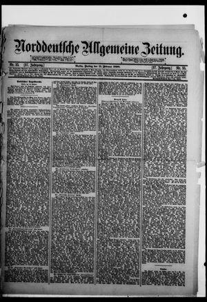 Norddeutsche allgemeine Zeitung on Feb 11, 1898