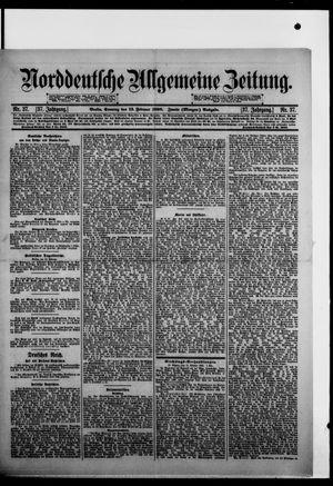 Norddeutsche allgemeine Zeitung vom 13.02.1898