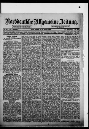 Norddeutsche allgemeine Zeitung vom 16.02.1898