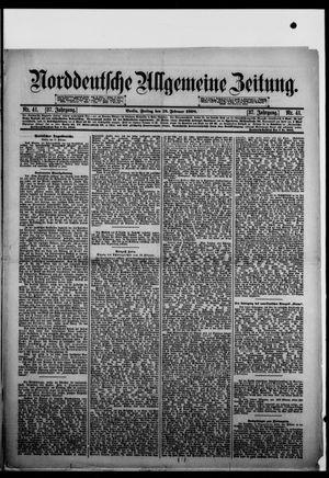 Norddeutsche allgemeine Zeitung vom 18.02.1898