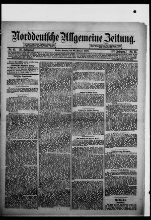 Norddeutsche allgemeine Zeitung vom 20.02.1898