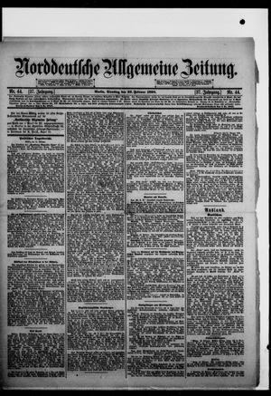 Norddeutsche allgemeine Zeitung vom 22.02.1898