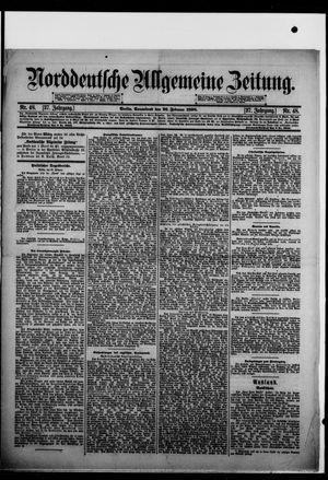 Norddeutsche allgemeine Zeitung vom 26.02.1898