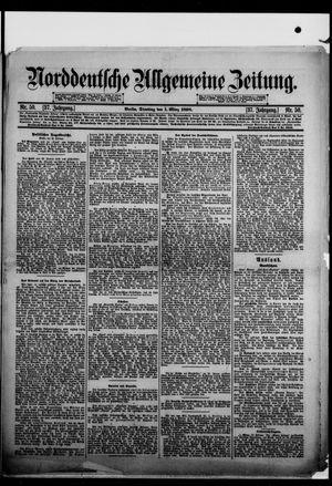Norddeutsche allgemeine Zeitung vom 01.03.1898